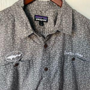 Patagonia Cotton Dogfish Head Button Down Shirt